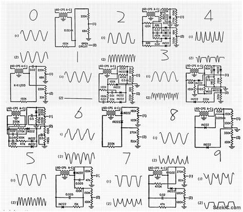 pattern generator circuit diagram crt number generator power supply circuit circuit