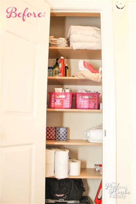 maximizing closet space linen closet organization maximizing small spaces