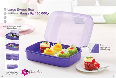 Multifungsi Large Box large sweet box tupperware katalog promo tupperware