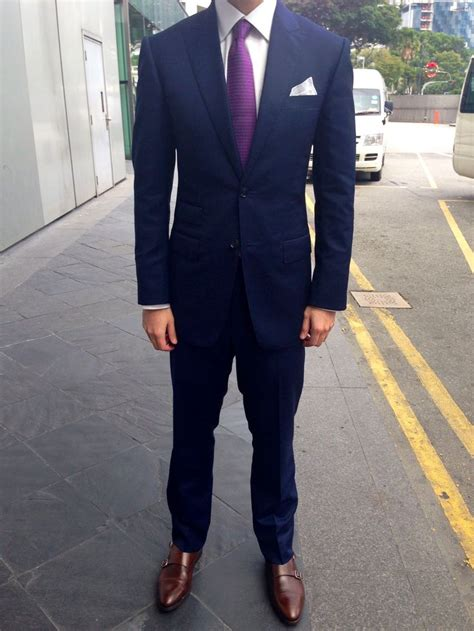 Dasi Purple Tie 1000 ideas about navy suits on blue suits