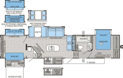 Jayco Floor Plans by Southaven Rv