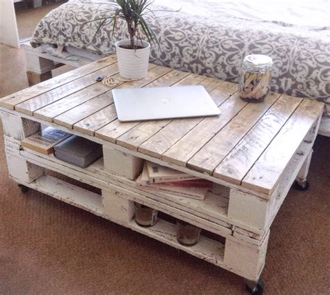 Reclaimed Wood Pallet Coffee Table   Internet Vs Wallet