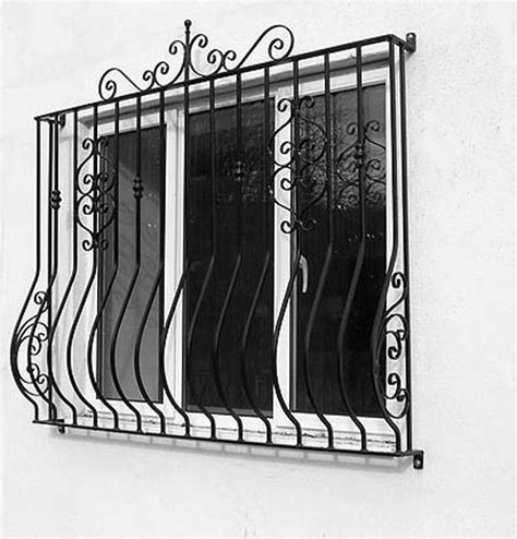 security window grill curved kvriver