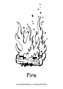 cfire coloring page colouring page