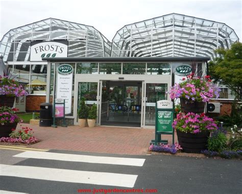 frosts garden centre opening times