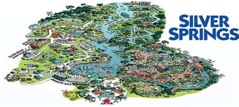 map of silver springs florida silver springs activities