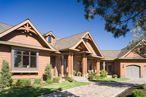 home design gallery inc true residence rustic exterior portland by alan