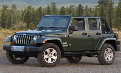 Jeep Wrangler 2009 Car And Driver