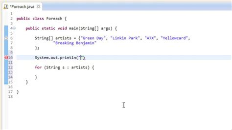 java swing tutorial for beginners with exles java for beginners tutorial for each loops youtube