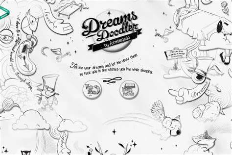 doodle bug website 35 outstanding showcase of black and white website designs