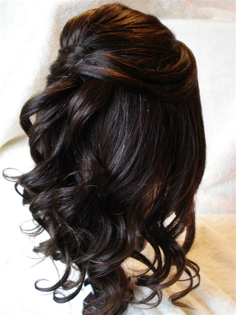 formal hairstyles half up half down medium hair 100 delightful prom hairstyles ideas haircuts design