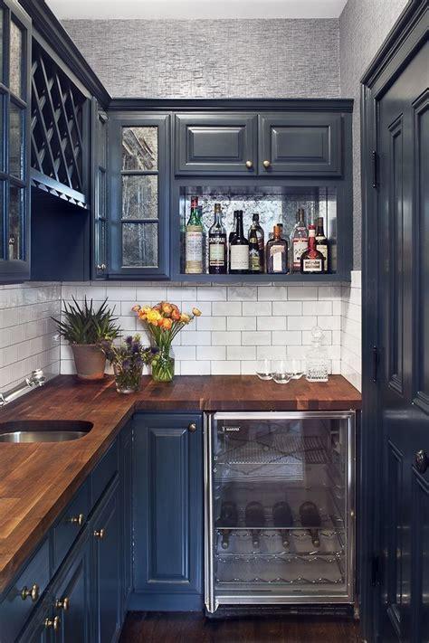 20 trendy blue kitchen sets in interior design home