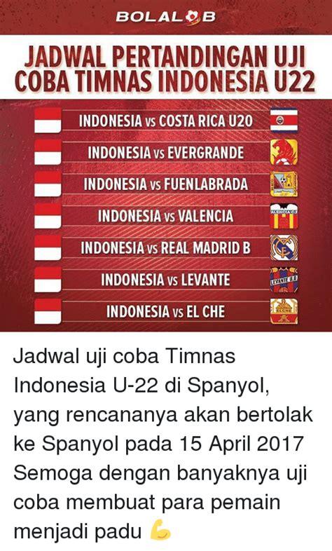 jadwal timnas indonesia jadwal timnas tenarkan