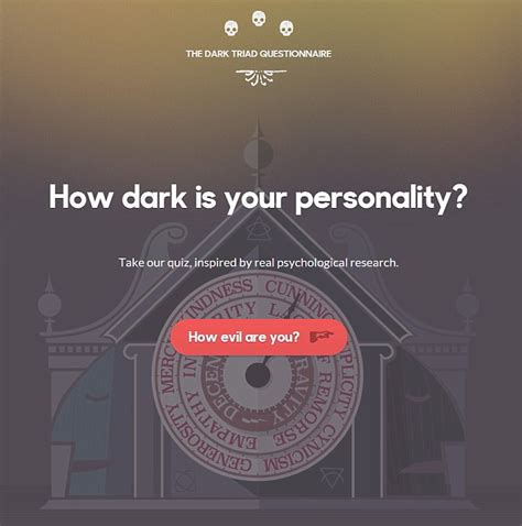 quiz is your a psychopath how evil are you test reveals whether you