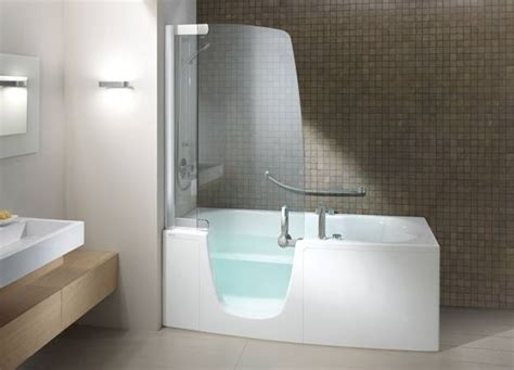 Bath And Shower In Small Bathroom Walk In Shower And Bath Combinations Thraam