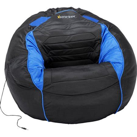 Bean Bag Chairs With Speakers by Kahuna Sound Chair Bean Bag Black And Blue Walmart