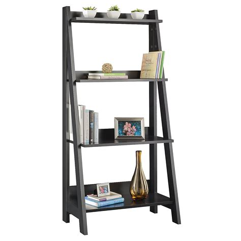 ladder bookshelf design modern home interiors ladder