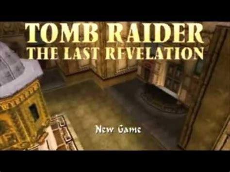 major themes book revelation tomb raider last revelation main theme remix youtube