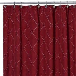 Wine Colored Curtains Wellington Fabric Shower Curtain Wine Burgundy Embroidered Ebay