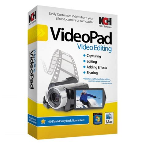 tutorial videopad by nch software nch software 174 ret vpw001 software videopad