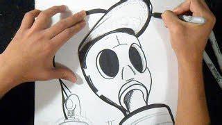 Tshirt Skrillex Vi dibujo de un ojo mutante graffiti zaxx vea de