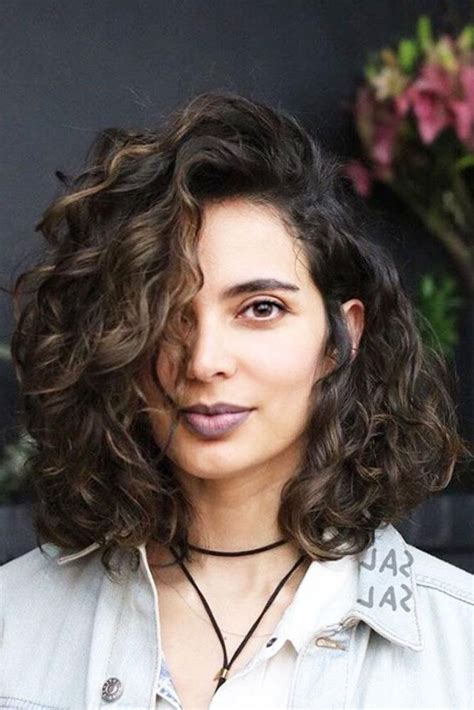 hairstyles that can be worn curly long bob that can be worn curly or straight 15