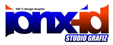 membuat logo band ionx id studio grafiz muhamad yusron