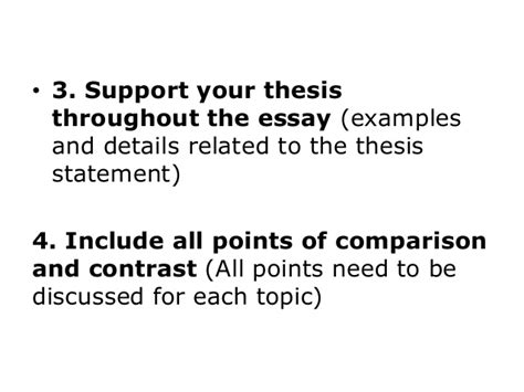 Thesis Statement Generator For Compare And Contrast Essay by How To Write A Thesis Paragraph For A Comparative Essay Drugerreport732 Web Fc2
