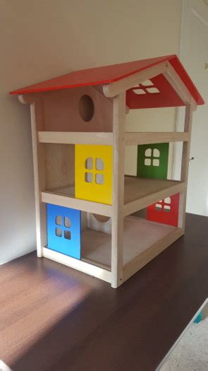 pintoy wooden dolls house pintoy wooden dolls house including pintoy dolls furniture