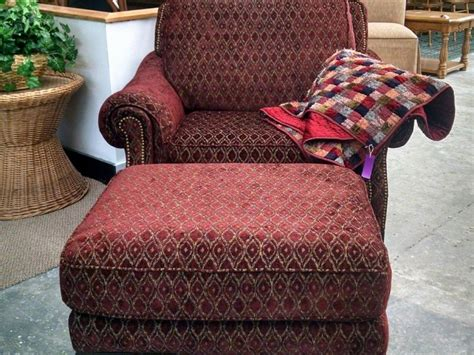 Overstuffed Chairs With Ottoman Overstuffed Chair And Ottoman Set Home Design Ideas