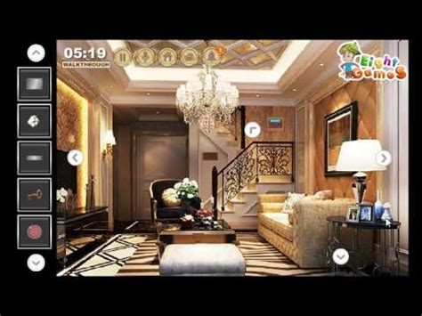 escape the house luxury duplex house escape walkthrough eightgames youtube