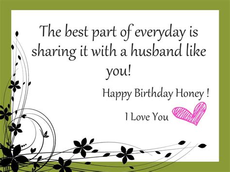 Husband Birthday Card Message Happy Birthday Husband Wishes Messages Images Quotes