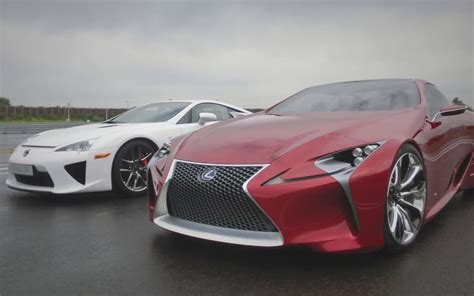 lexus lf lc engine video find beauty meets beast in lexus lfa lf lc concept