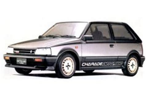 daihatsu g11 detomaso turbo charade