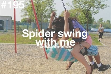spider swing spider swing perfect relationship pinterest
