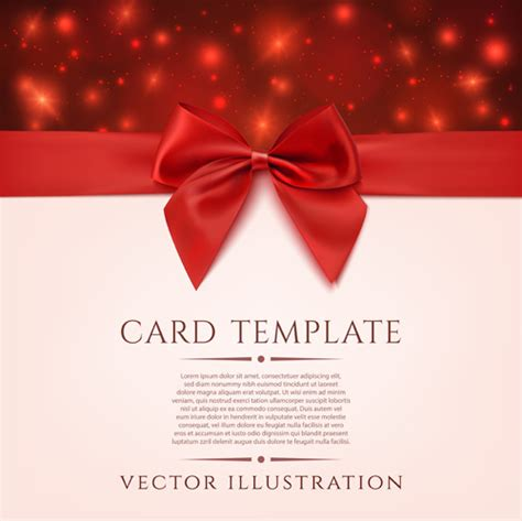 Romantic Gift Cards - romantic valentine gift cards vectors free vector in adobe illustrator ai ai