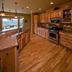 kitchen ideas on pinterest hickory cabinets rustic