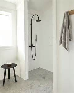 Open Shower Small Bathroom Best 25 Open Showers Ideas On Small Bathroom Showers Open Style Showers And