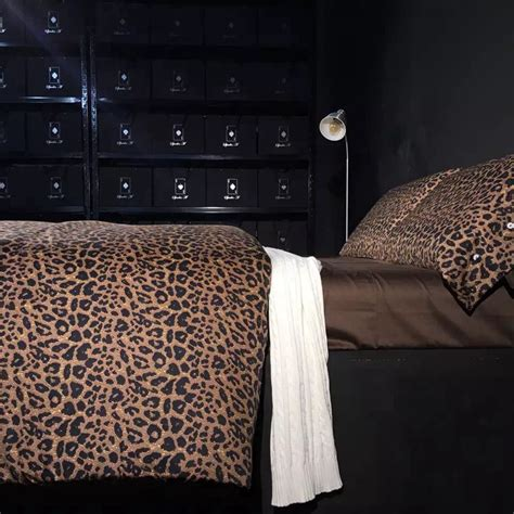 china bedding sets buy wholesale leopard print comforter set from