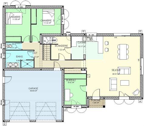 Plan Maison à étage 3983 by Plan Maison Etage Gratuit Ventana