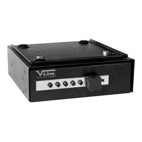 Desk Gun Safe by V Line 2597 S Deskmate Desk Pistol Safe With