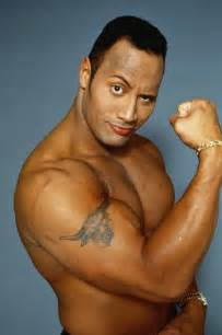 dwayne johnson body height and weights