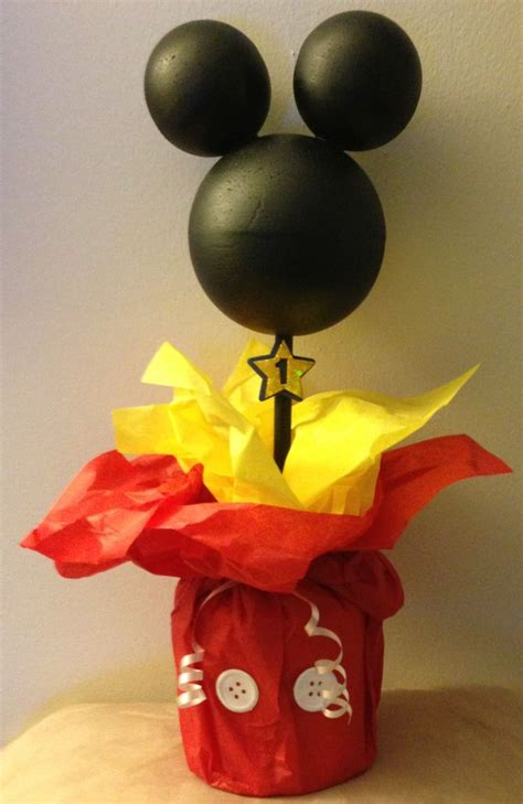 mickey mouse diy decorations 1st birthday