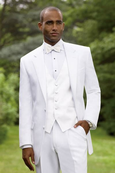 Calvin Klein   Newport   Wedding Tuxedos   White Tux