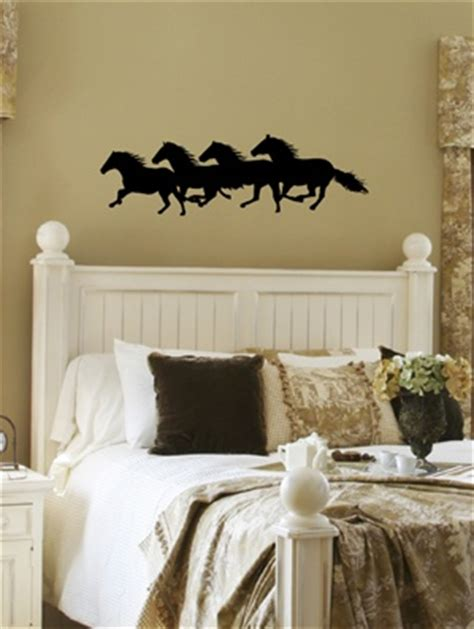 western wall stickers horses western wall decal sticker