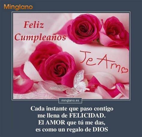 imagenes hermosas de cumpleaños de amor felicitaciones de amor para cumplea 209 os