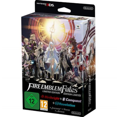 fire emblem fates limited edition nintendo official uk