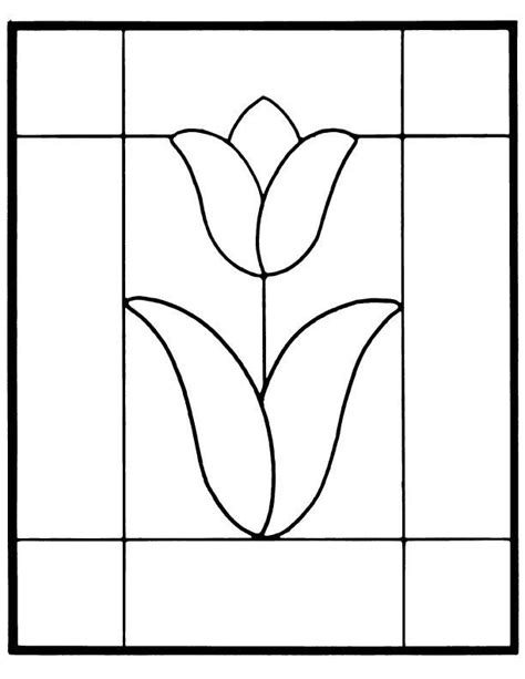 mosaic templates free stained glass patterns for free glass pattern 772