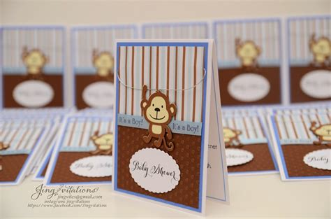 Baby Shower Handmade Invitations - birthday and baby shower invitations september 2014