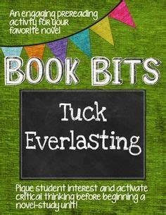 tuck everlasting book report writing your tuck everlasting book report